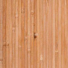 Бамбукові шпалери 12507 2 м 8 мм темні - фото