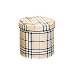 Коробка подарункова Elisey 8014-006 Принт 17*17 см бежева - фото