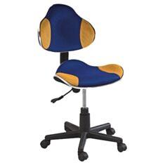 Крісло Q-G2 (синьо-жовте)