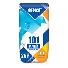 Клей для плитки Ферозит 101 25 кг - фото