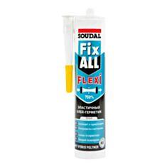 Клей-герметик Soudal FixAll кристал 290 мл