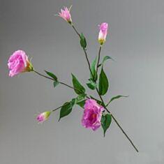 Штучна квітка Еустома 090F/pink 80 см