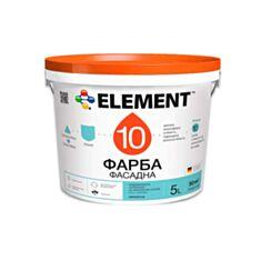 Фасадна фарба силіконова Element 10 10 л білий