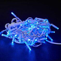 Гірлянда Delux Icicle 75LED 2*0,7 м 18 flash синій - фото