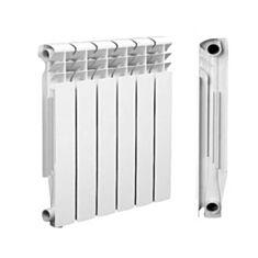 Радиатор биметаллический Grand 500*80 с боковым подключением - фото
