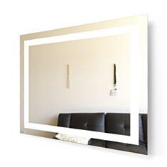 Дзеркало Aqua Rodos Альфа з підсвіткою LED 100 см