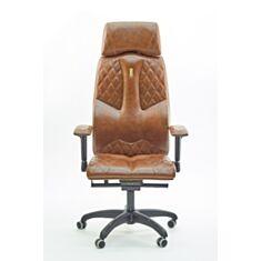 Крісло Business коричнева екошкіра