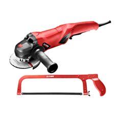Набір інструментів Stark шліфмашина AG-1010 NEW + Ножівка 518200300 - фото