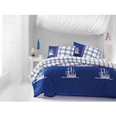 Комплект постельного белья Cotton Box Maritime Ranforce Nautical Lacivert 2,0