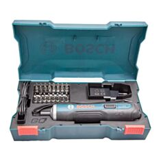 Викрутка акумуляторна Bosch GO 06019H2021 з набором біт - фото