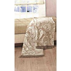 Плед Arya Paisley Stone Хлопок 150 * 200
