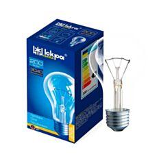 Лампа накаливания Искра Б 200W E27 прозрачная - фото