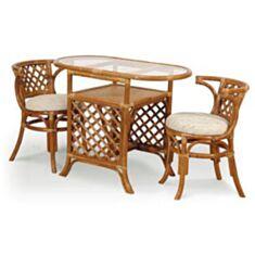 Комплект садовой мебели для завтрака 0303 Calamus Rotan - фото
