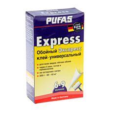 Клей для шпалер Pufas Euro 3000 express універсальний 200 г - фото
