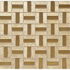 Мозаика Vivacer L1125 30*30 золото