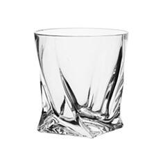 Склянки для віскі Bohemia Quadro b2k936-99a44 340мл 6шт - фото