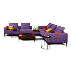 Комплект мягкой мебели Окленд фиолетовый - фото