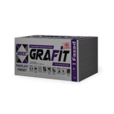 Пінопласт Ферозіт 35 Grafit Fasad 1000*500*50 мм - фото