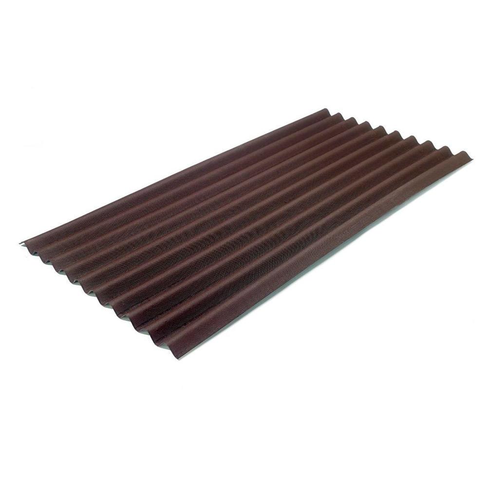 Лист бітумний Onduline Classic 2*0,95 м коричневій